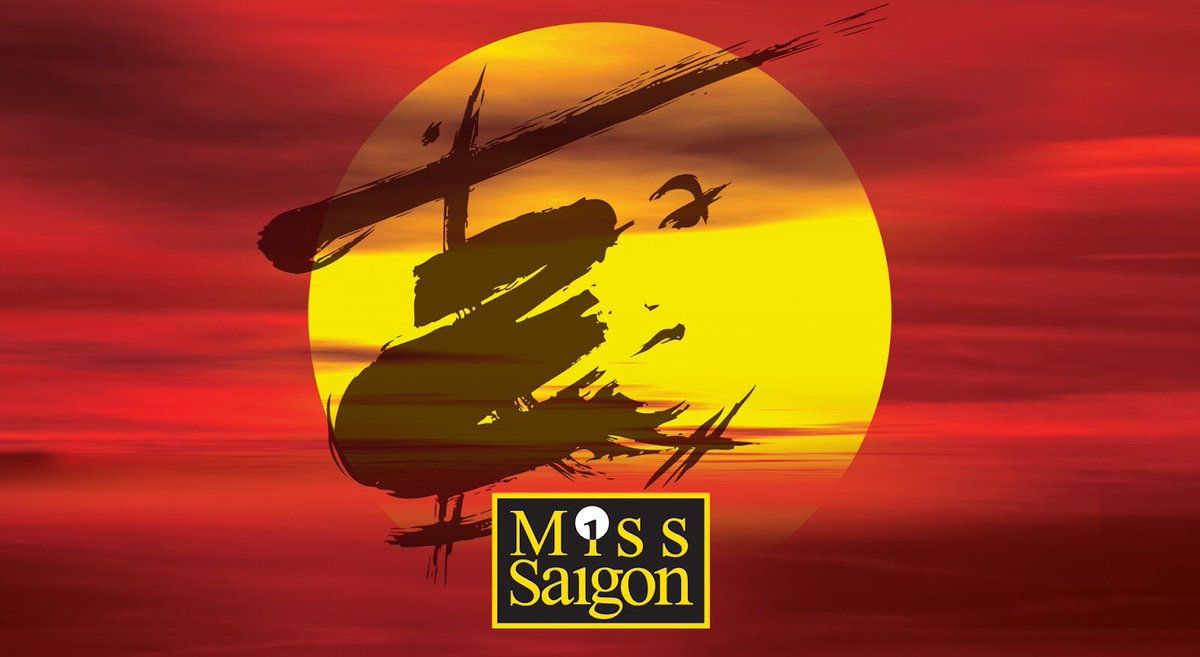 We are thrilled to announce that we will be opening the new UK tour of Miss Saigon from 3 - 22 Jul 2017! https://t.co/Hkgz7tLXsD