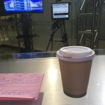 Free gourmet coffee! Thx #urbanbeandetroit & #whitepine ! Come & get it at the Qube patio in #Detroit #earlyrisers https://t.co/uyF9QvWknu h