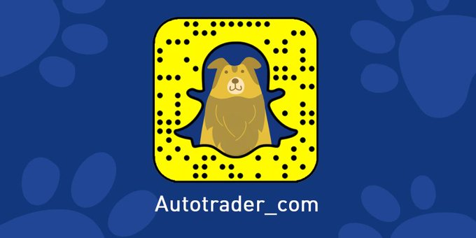 Autotrader @AutoTrader_com: Can't come to our #ParkandBark event? No problem! Follow us on Snapchat for all the paw-some action! #NationalDogDay https://t.co/NTrvdw0sUi