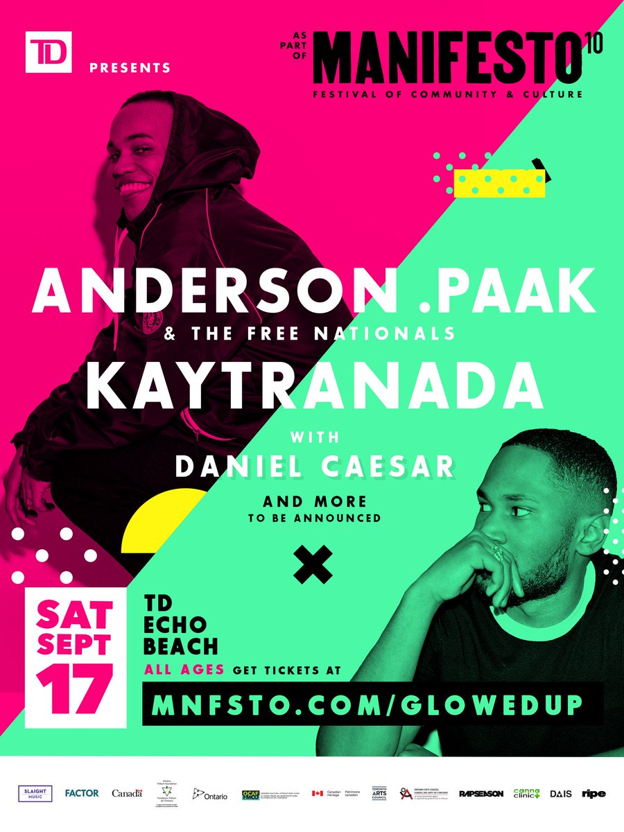 #MNFSTO10 is our biggest festival ever. 10 straight days of live hip hop culture. Hit MNFSTO[dot]com for details https://t.co/wIe6hsgqDG