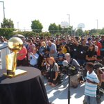 Thank you @RealTristan13 for bringing the championship trophy to #Brampton! #NBA https://t.co/CEyMEAVrqh