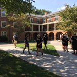 Move-in is still going strong on South Campus! #WFU20 https://t.co/BABg78Vlep
