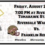 Game Day Warriors!! #ArrowsUp #NewEra @RHS_sports @RHS_tribe @cecil_joyce @nolan_tom https://t.co/ADdwQA28uG