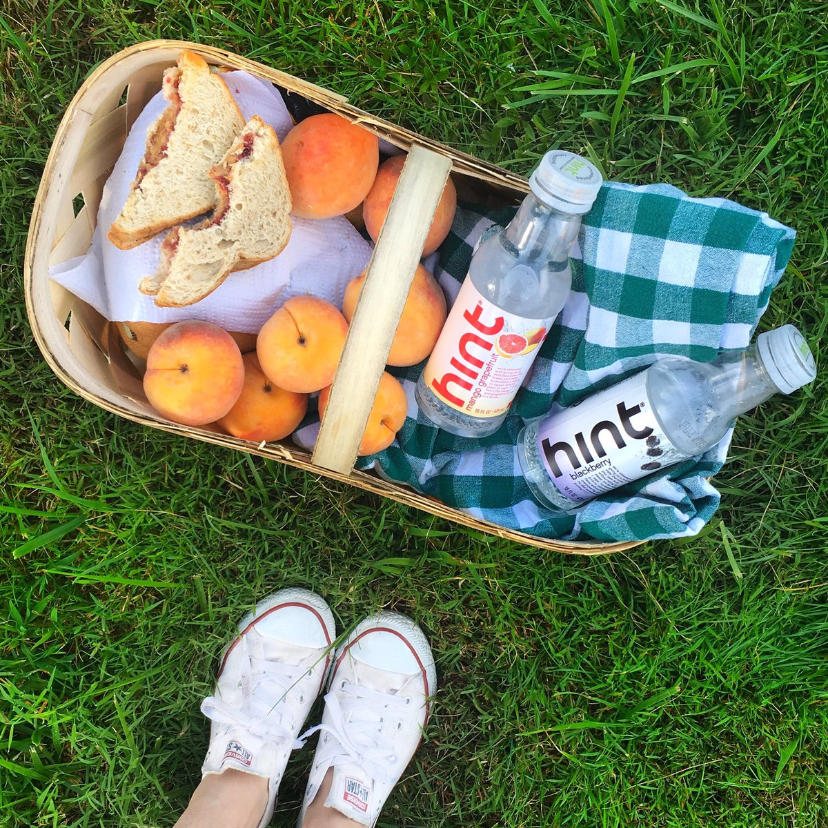 {Fruity} Picnic Essentials with @hint_water