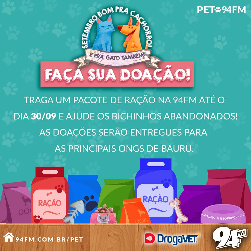 "ONG Nature Vitae participa da campanha ""Setembro bom pra cachorro e pra gato também"" https://t.co/rArRIiXhpL https://t.co/njZdsNynry"