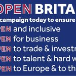 Very pleased to support Open Britain – campaigning for the best deal for Britain's future https://t.co/ORCU53SGqg https://t.co/TZ3pETWp5Q