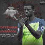 Tomorrow the game against Tottenham ⚽️ #LFC https://t.co/09R2oWGUyO