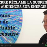 Coderre réclame la suspension des audiences sur #ÉnergieEst 👉https://t.co/stwft8bhEJ #PolQc #ONÉ #AssNat #PolMtl https://t.co/1rYU7Xa9qc