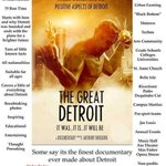 We cover a little of everything about #detroit in the film watch it on amazon https://t.co/1JZoRYCrM7