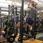 Great 6AM workout to start this Friday off with @UNImbb #pantherstrong https://t.co/hevrtjRUnA