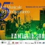 Dal 1° all11 settembre il 25° #Festival del #Mediterraneo Famiglie sonore https://t.co/XOPLRZfE98