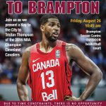 Today! Come out to Brampton Soccer Centre to see @RealTristan13 receive the Key to the City! https://t.co/sEqcu6yYE7 https://t.co/dmfYl8qjU8