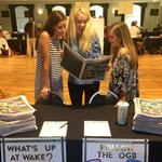 Welcome Class of 2020! Come by and see us in Benson and pick up a copy of the Freshman Tabloid #WFU20 https://t.co/4UR8usdSoL