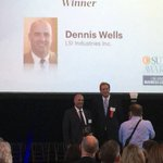 #LSI CEO, Dennis Wells, won a 2016 C-Suite Award in the Public Company CEO Category by @BusinessCourier #LYTS https://t.co/m90jBg0kPF