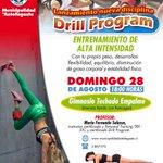 """#Antofagasta Imperdible este DOMINGO """"Drill Program"""" con tu propio peso desarrollarás flexiblidad https://t.co/cCEWnqyBgq"""