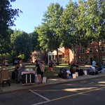 Ready, set, move in to Babcock, Luter Halls. #WFU20 @WFUParents @wfuadmissions @WFUAlumni #southcampus @demondeacons https://t.co/LkaPyM3hwt