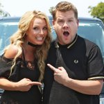 """See Britney Spears sing """"Baby One More Time"""" with James Corden in """"Carpool Karaoke"""" https://t.co/IHQCGgcEQy https://t.co/VWA4TWVtAg"""