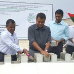 Ha.Dhihdhoo water network dvlpmnt project inaugurated by @Thoriqibrahim . #healingaparadise #RaeesYameen2018 https://t.co/94KtW6QDdi