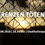 An den europäischen Außengrenzen sterben tausende Menschen. In #Chemnitz hetzen AfD, NPD, Pegida ... #nopegida https://t.co/ANKKyCDa5P