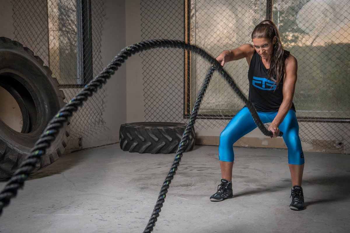 What good is power if you don't use it? Full @Tapout women's line @JCPenney: https://t.co/p6g1UxI0KB @StephMcMahon https://t.co/DINzeemRH2