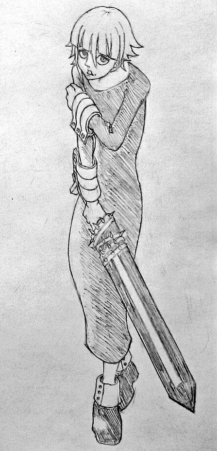 #お前の絵柄に絶対合うのに何で描かないのってキャラをフォロワーさんが教えてくれる 『ソウルイーター』クロナ