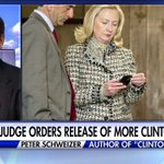 """Peter Schweizer: """"The whole controversy & scandal over the emails and the Clinton Foundation are joined at the hip."""" https://t.co/Bu6zS8zq1A"""