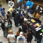 The Campus Services Fair is in full swing! Be sure to come by the Benson University Center! #WFU20 https://t.co/S4AKpmiWUY