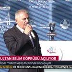 Başbakanımız Yıldırım, #YavuzSultanSelimKöprüsü açılışında konuşuyor. İzlemek için: https://t.co/GCZ1xOfWNu https://t.co/WPs7EEZAjW