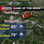 GAME OF THE WEEK FORECAST... #CHAwx https://t.co/aRJIzv1dzE