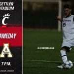 ITS GAMEDAY! #Bearcats take on Appalachian State tonight in both teams season opener. Come join us! #OneTeam https://t.co/xXpZcvoRp2