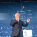 Başbakan Yıldırım, dünyanın en geniş köprüsü olan Yavuz Sultan Selim Köprüsünün açılış töreninde konuşuyor. https://t.co/OSiYloyB32
