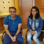 @virendersehwag sir, thanku for meeting me, you are such a great personility.. https://t.co/l4dSk6V2NF