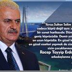 """""""Yavuz Sultan Selim Köprüsü sadece köprü değil aynı zamanda bir sanat harikasıdır."""" #YavuzSultanSelimKöprüsü https://t.co/ByQuEwlwWB"""