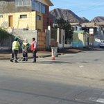 Equipo de Aseo @AntofagastaMuni realizando barrido en calle Paraguay (Cristobal Colón y Talcahuano) #Antofagasta https://t.co/8gR8Gx0g4Y