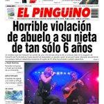 PORTADA DIARIO EL PINGÜINO VIERNES 26 DE AGOSTO. Edición on-line: https://t.co/lmNDrjOmxf #puq https://t.co/Da7nBcC0sX