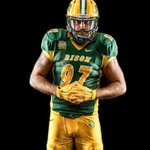 #UniformWatch  Bison will wear the traditional green uniform tomorrow.  Bison fans still wear yellow/gold! #GoldRush https://t.co/EzCgiJ5b0w