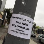 Spotted these on some of the businesses on York Blvd this morning. #savehlp #getout #gentrification https://t.co/TUGeCMn6oJ