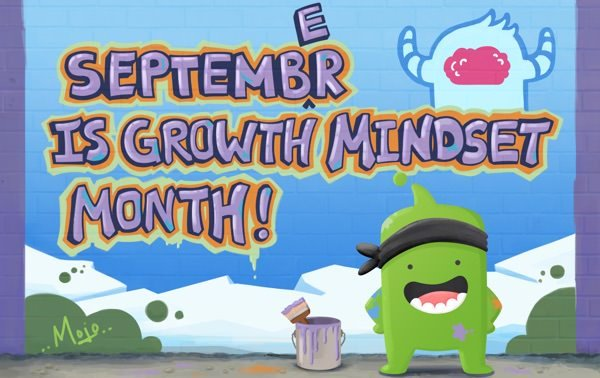 Did you hear the news?! Sept. is Growth Mindset month!! RT if you're celebrating too!
