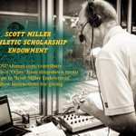 Please consider giving to the Scott Miller Scholarship Endowment & make a positive impact on an aspiring broadcaster https://t.co/KKt00RRs6d