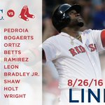 #BigPapi and the #RedSox return to Boston to start series vs Royals at 7:10 ET. https://t.co/7gVdQ8Gl3a https://t.co/3syao432nF
