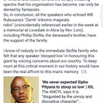 Stofile family speaks after #ANCYL statement. Hmmm! https://t.co/fWrZpTCXYF