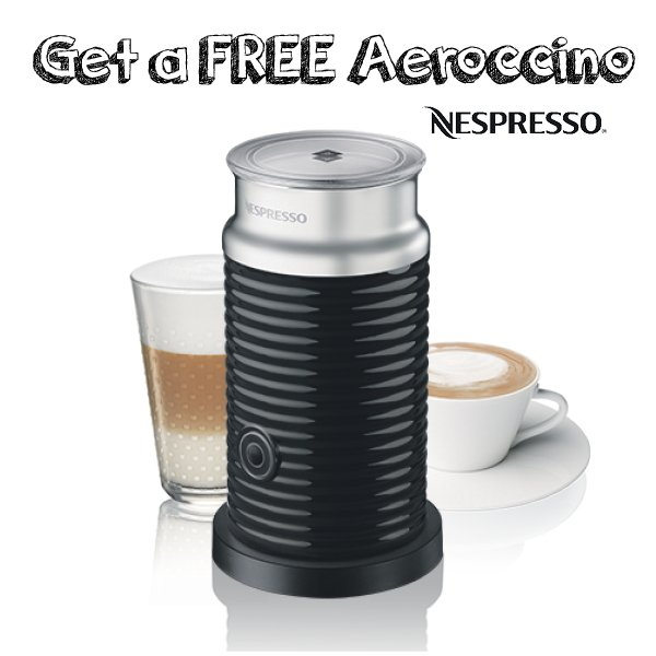 Get your half price Nespresso Pixie at DID! You'll also get a code for a FREE Aeroccino when you buy Grand Cru caps! https://t.co/qEhbjzwRXH