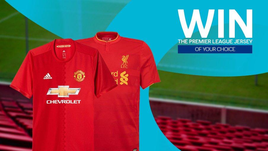 Fancy winning a Premier League jersey? Retweet for a chance to win. https://t.co/Cxg4lQ5Rew