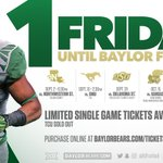Last Friday without Baylor Football. Who likes the sound of that? See you in a week. #SicEm https://t.co/sCuku1dgjo