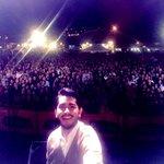 #selfie con el espectacular público de la primera Noche De Feria @LaFeriaDeLoja https://t.co/1yYI7fr1oh