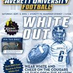 If you are coming to the Averett football season opener on Sept. 3, wear white! https://t.co/cvjHoR2EuC