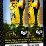 Want a pair of #Bison tickets? RT this to get in the running! #GoBison #NDSUSeasonOpenerCountdown https://t.co/K9hEXhEdu4
