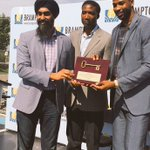 NBA Champ @RealTristan13 gets key to the city in hometown #Brampton today https://t.co/a9J2h5rBFU