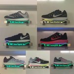 Some of the shoes our athletes will train in this fall. Lots of choices! #SicEm https://t.co/Gm5rKJfwYO