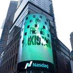 Rising Pakistan with GOP logo. NASDAQ New York Stock Exchange building yday. The world acknowledges Brand NS. https://t.co/BuH6uwFveX
